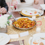 Wedding paella catering
