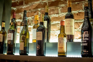 Sherry wine selection