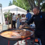 Event catering outdoors
